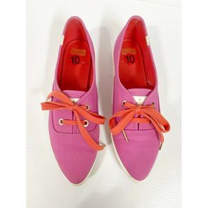 Keds Kate Spade Retro Pink Point Sneakers 10